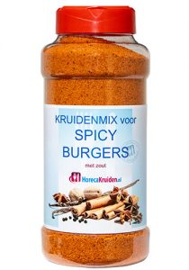 Mix voor spicy burgers